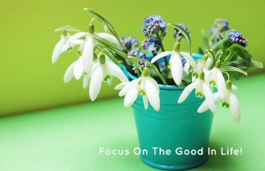 Focus On The Good In Life!