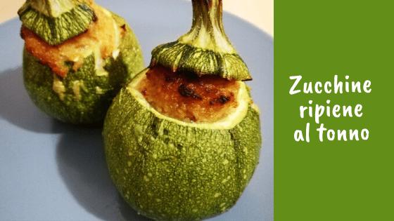 Zucchine ripiene al tonno (light)