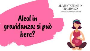 alcol in gravidanza