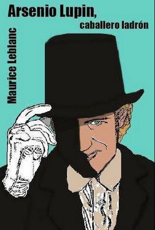Arsenio Lupin, caballero ladrón. Ilustración y composición.