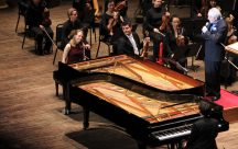 Deborah Grimmett with Vancouver Symphony Orchestra