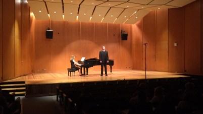 Deborah Grimmett with baritone Kurt Clare