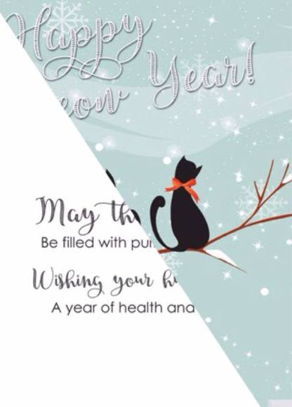 Cat Holiday Cards sold by Kitty's Enterprises
