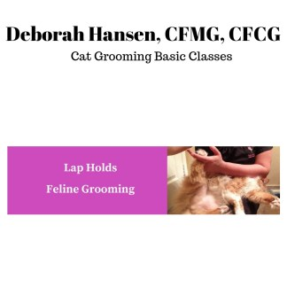 Deborah Hansen, CFMG, CFCG teaches basic cat grooming skills