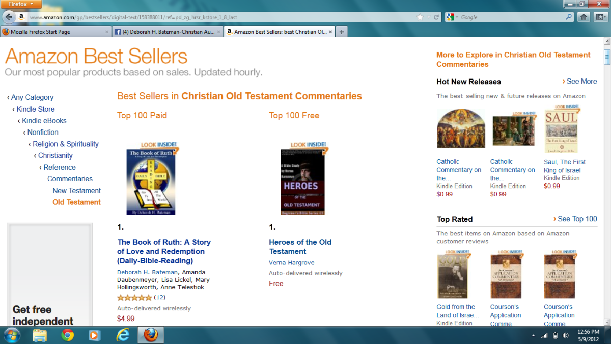 http://DeborahHBateman.com/The Book of Ruth: A Story of Love and Redemption #1 Best Seller Old Testament commentaries