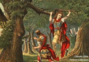 2 Samuel 18 absalom_hanging