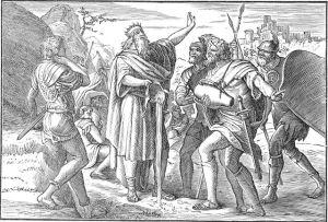 David's three mighty men II Samuel 23:16-17