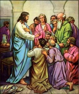 Jesus instrust his disciples