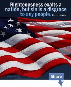 Prov 14 34 Righteousness Exalts a Nation