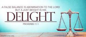 Proverbs 11 Balance