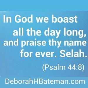 Psalm 44 8