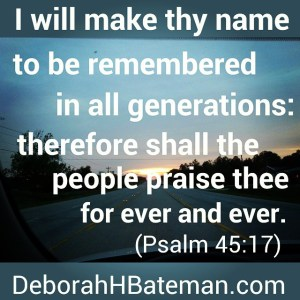 Psalm 45 17