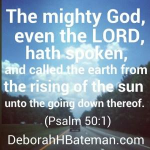 Psalm 50 1 a