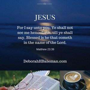 Matthew 23 39