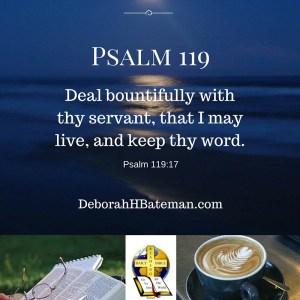Psalm 119 17