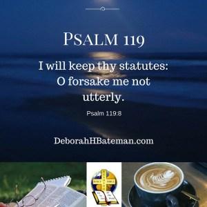 Psalm 119 8