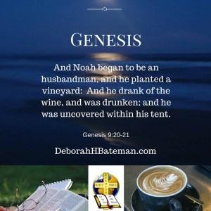 Genesis 9 20-21 Noah's Fall