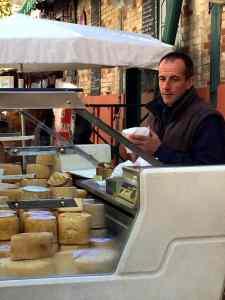 Cheesemonger in St. Jean-de-Luz