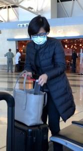 Hong Kong bound JFK passenger