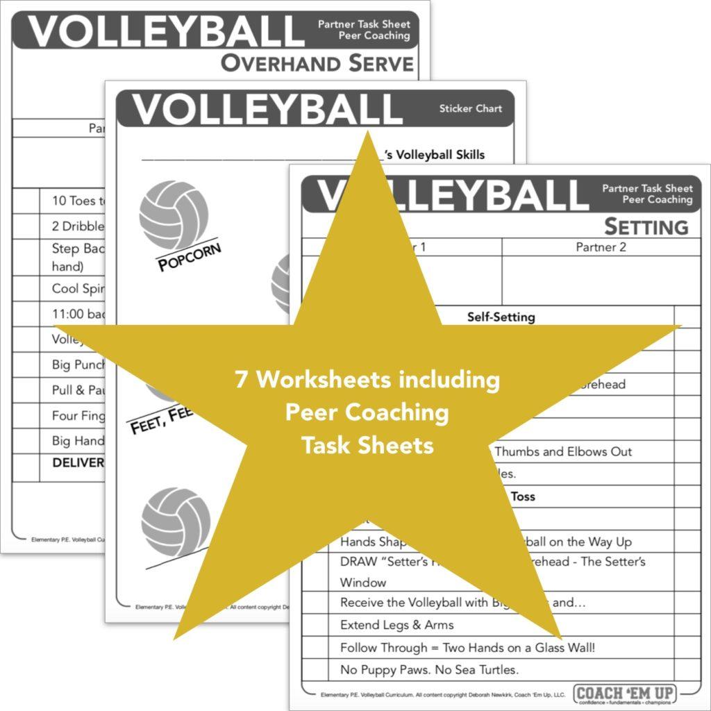 Volleyball Curriculum Coach Deborah Newkirk