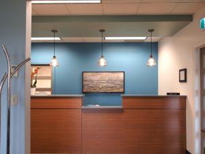 Dental Clinic Reception Desk