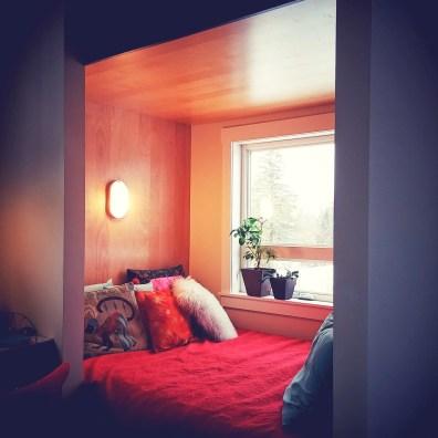 guest room/office interior by deborah nicholson lighting and interiors