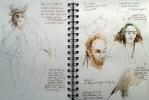 Chris Tutton sketch page