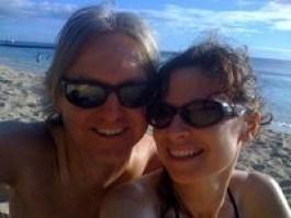 Don & Deborah in Waikiki Beach