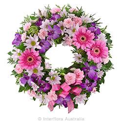 CONTEMPLATION Cluster wreath suitable for service AUS 845