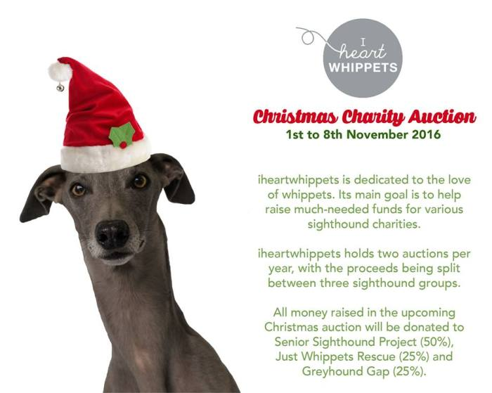 i heart whippet - auction