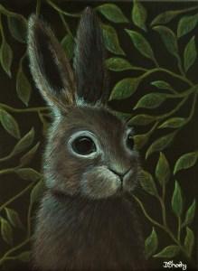 Rabbit face painting
