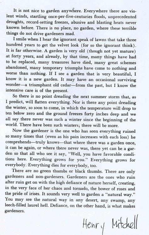 essay on garden