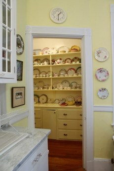 Butlers Pantry through the doorway