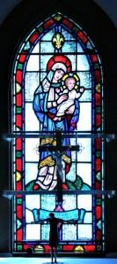 Window in Chapel in St. Marys