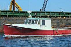 red-boat-gloucester-harbor