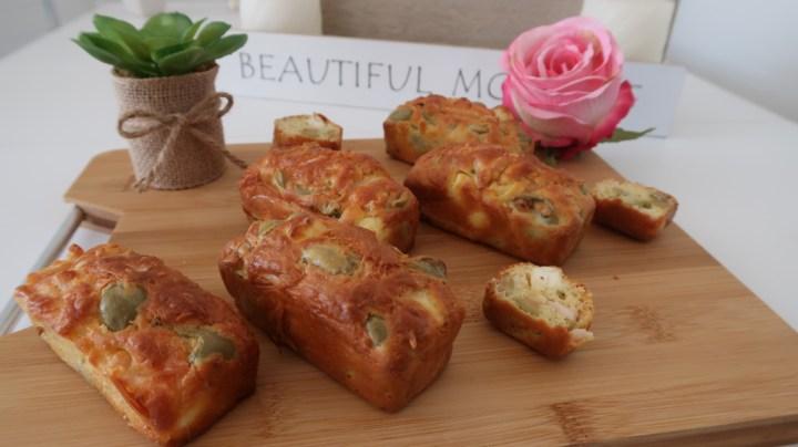 Cake Jambon, Olives et Feta