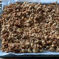 Biologische granola van de Bosakker