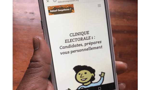 CLINIQUE ELECTORALE EN LIGNE : Candidates, à vous de gagner !