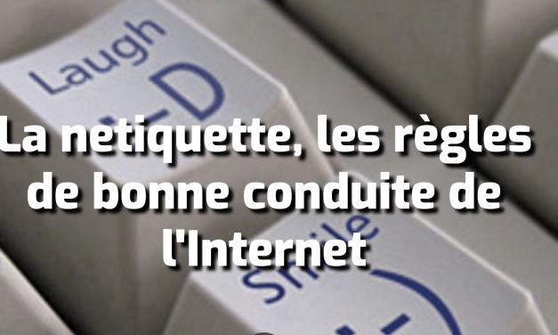 La netiquette, les règles de bonne conduite de l'Internet