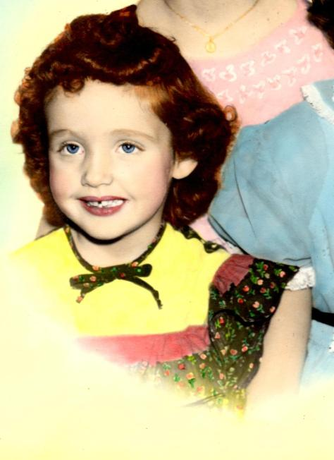 innoncent child redheaded girl 1950s child God Child Children Children God God's Children God Created