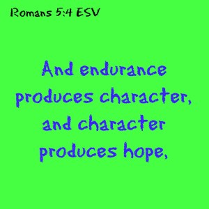 romans 5:4 character