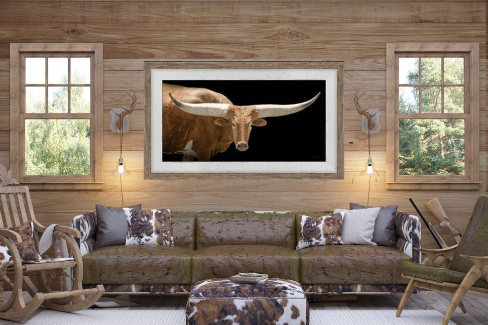 barnwood framed watusi