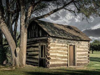 old stuff Old log cabin image