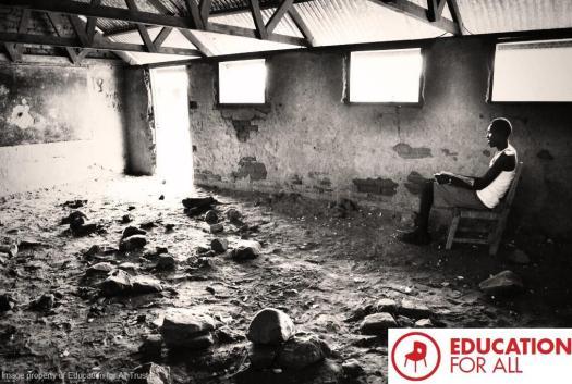 Kenyan Refugee Camp Classroom