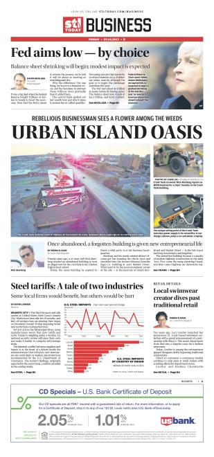 Business front page