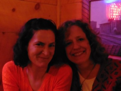 Debra and Cecilia
