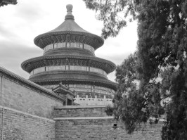 Temple of Heaven gray scale