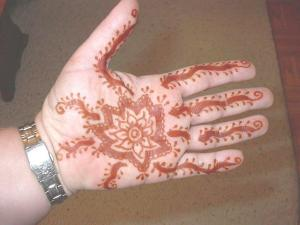 Mychele's Mehndi After
