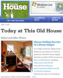 Today at This Old House – House Selling Secrets of a House Stager