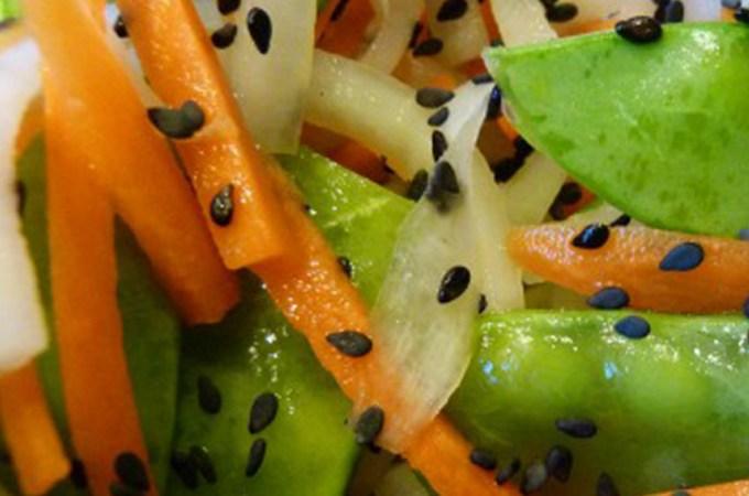 Daikon & Carrot Salad